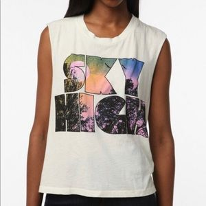 Truly Madly Deeply Sky High Muscle Tee